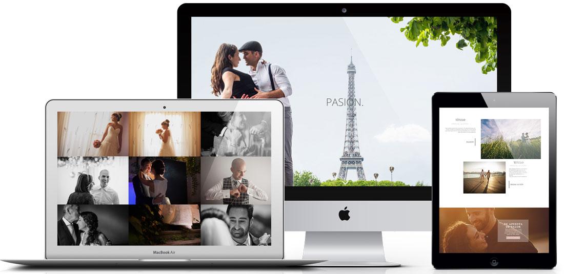 Pagina web Fotógrafo